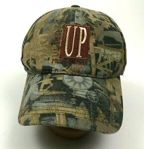 VINTAGE UP Ultra Petroleum Hat Cap Strapback OILFIELD CAMO Camouflage Adjustable