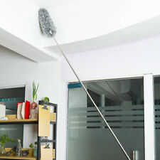 Home Telescopic Pole Extendable Duster Long Handle Roof Cleaning Bendable Brush