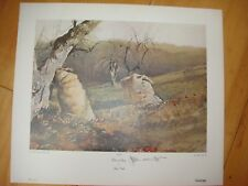 Jamie Wyeth Signed Print by Andrew Wyeth, NICK and JAMIE