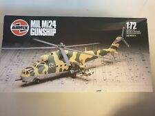 Airfix MIL Mi24 Hind D Gunship 1:72 scale helicopter model kit 905017.