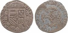 Belgique, Brabant, Philippe II, 1/20 écu Philippe, 1593 Anvers - 122