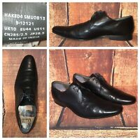 Ted Baker London Haked 4 Oxford Black Leather Derbys Dress Shoes Mens Size 11