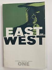 EAST OF WEST Vol 1 TPB Trade Paperback Image Comics Jonathan Hickman (X-Men)