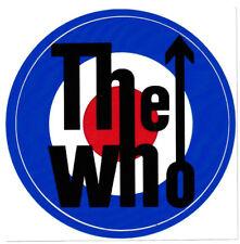 THE WHO VINYL STICKER PINBALL WIZARD MOD UK ENGLISH ROCK POP ART QUARDROPHENIA