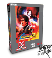 Limited Run #344 The King of Fighters 98 Ultimate Match Collectors Edition PS4