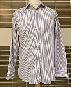 """Marks And Spencer Man Ultimate Non Iron Long Sleeve Collared Shirt 15.5"""" Reg Fit"""