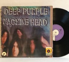 Deep Purple MACHINE HEAD 1972 Orig. GERMAN Press SHZE 344 Misprint LYRICS POSTER