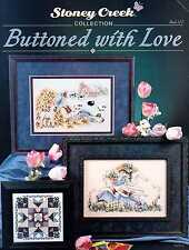 Buttoned with Love Cross Stitch Book - Stoney Creek Collection #122 OOP