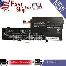 New listing Battery for Lenovo L17L3P61 5B10N87357 L17C3P61 5B10N87359 L17M3P61 5B10N87358