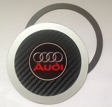 Magnetic Tax disc holder fits any audi a1 a2 a3 a4 a5 a7 a8 q5 q7 tt  rs4 a6 rs4