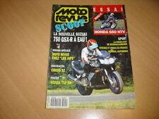 Moto revue N° 3004 Honda 650 NTV.Nouveautés cross 92