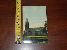 POSTCARD RARE VINTAGE ST MICHAELS CATHEDRAL TORONTO 1912 RICHMONDE SALES