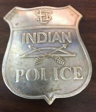 US Indian Police Badge (BADGES OF THE OLD WEST)
