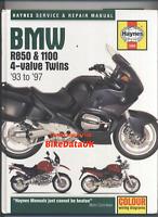 BMW 850 1100 Boxer Twins (93-97) Haynes Repair Manual R850 R1100 R RS RT GS AL31