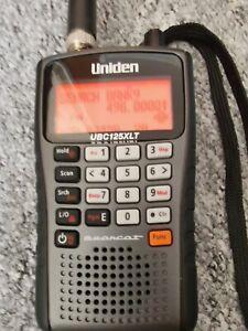 Uniden UBC-125XLT Handheld Scanner