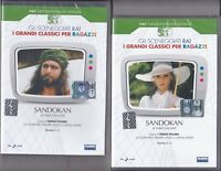 2 Dvd Sceneggiati Rai SANDOKAN di Salgari S.Sollima con Kabir Bedi completa 1976