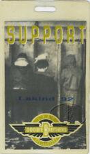 DOOBIE BROTHERS 1992 Tour Laminated Backstage Pass Bobby LaKind Fundraiser