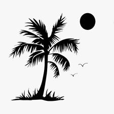 PALM STENCIL SUN TREE BIRDS OCEAN BIRD PAINT STENCILS TEMPLATE CRAFT NEW BY TCW