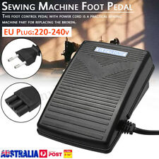 AU 220-240V EU Plug Foot Controler Pedal With Power Cord for Sewing Machine