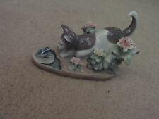 "Lladro 1442 ""kitty confrontation"" mint"