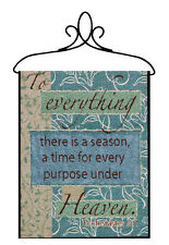 To Everything There is a Season Under Heaven Tapestry Bannerette Wall Hanging