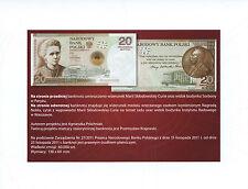 folder Maria Sklodowska Curie