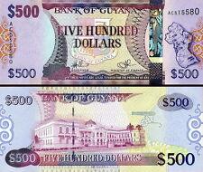GUYANA - 500 dollars 2011 FDS - UNC