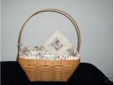Longaberger 2003 Easter Basket Large Spring Floral SU Fabric Liner Only New