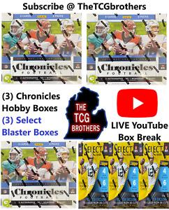 New Orleans Saints Break #323 Chronicles Hobby Box Select Blaster Box