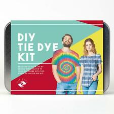 Gift Republic DIY Tie Tye Dye Kit Set Top T-shirt Fabric Art Craft Fashion