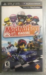 ModNation Racers (Sony PSP, 2010) brand new- sealed-psp