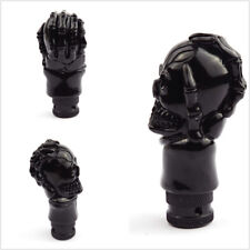 Car Shift Knob Kit Black Skull Head Stying Auto Accessories Shifter Lever Metal