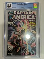 Captain America Annual #8 CGC 8.5 Classic Mike Zeck Cover