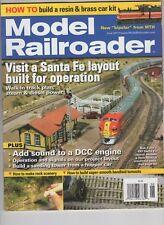 Model Railroader Train June 2011 Santa Fe Layout DCC Engine