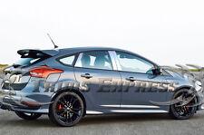 2012-2018 Ford Focus 6Pc Chrome Pillar Post Stainless Steel Trim NO/Kpad cutout