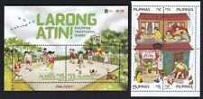 Philippines 2020 Traditional Children Games 4 values + SS complete set mint NH