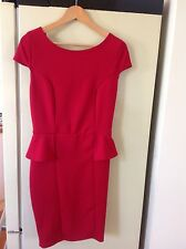 NEW LOOK WOMENS RED DRESS UK 14