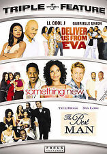 Deliver Us from Eva / Something New / The Best Man (DVD, 2008, 3-Disc Set)