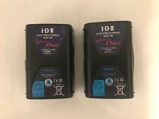 IDX cue-d 150 V Mount Lithium-Ion Battery x 2