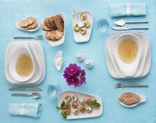 KAHLA Elixyr 6 x Speiseteller Essteller eckig flach Teller Porzellan Gastronomie