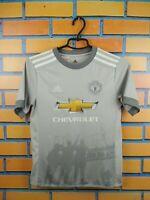Manchester United Jersey 2018 Youth 11-12 Shird Shirt AZ7562 Soccer Adidas