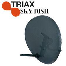 Sky Digital Zone 2 MK4  TRIAX Satellite Dish NO LNB - For Freesat, Sky, Astra