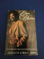 Edwin Hawkins If At First You Don't Succeed (Try Again) Cassette tape Single