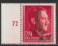 Poland/KOSZYCHE stamps 1944 Handstamped local stamp signed Mickstein  UNG  VF