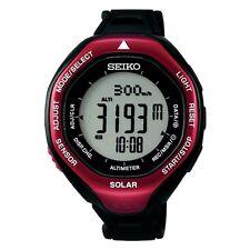 Seiko Men's SBEB003 Prospex Digital Display Japanese Quartz Black Watch