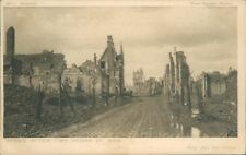 Postcard WW1 Ypres After 2 Years of War Daily Mail Battle pictures unposted