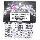 Atomic AR-277-R0 20mm S6 Delrin Rim R0 Rear White