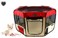 Équipements de transport rouge pour petits chiens pour chien