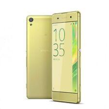 Téléphones mobiles dorés Sony 4G