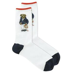 Polo Ralph Lauren Women's Rivera Bear Crew Socks